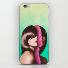 Split Hairs iPhone & iPod Skin