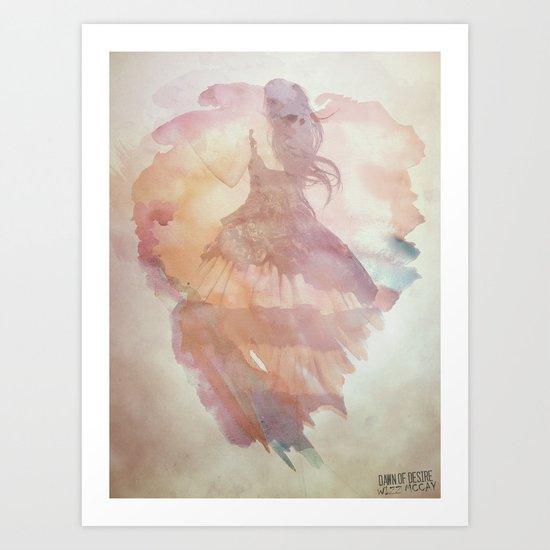 Dawn Of Desire Art Print