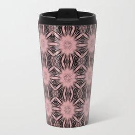 Bridal Rose Floral Abstract Travel Mug