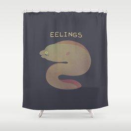 Eelings Shower Curtain