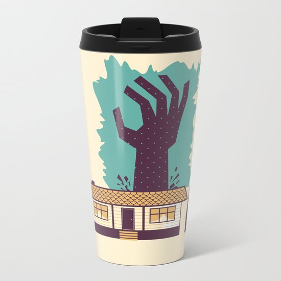 The Cabin in the Woods Metal Travel Mug