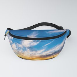 Voluminous Clouds Fanny Pack