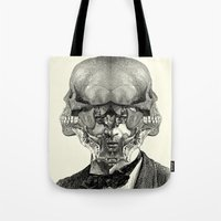 stormtrooper Tote Bags featuring Stormtrooper by DIVIDUS