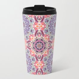 Abstract background with triangle pattern Travel Mug