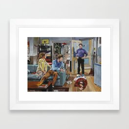 And You Want to be my Latex Salesman! Seinfeld Art Prints Framed Art Print