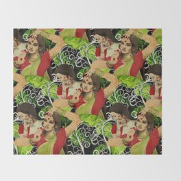 Aishwarya Pattern Throw Blanket
