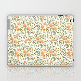 Peachy Flower Medley Laptop & iPad Skin