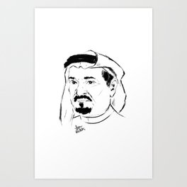 shk HUMAID limited edition Art Print