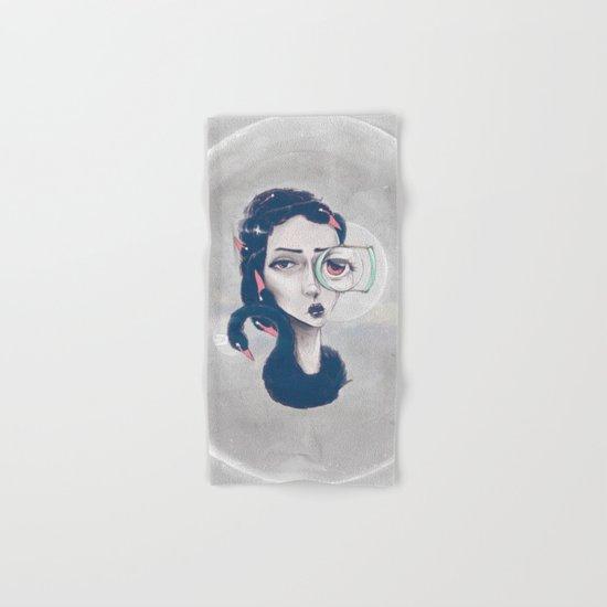 Rare Royal through the looking glass Hand & Bath Towel