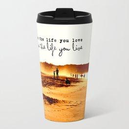 Golden Zicatela Travel Mug