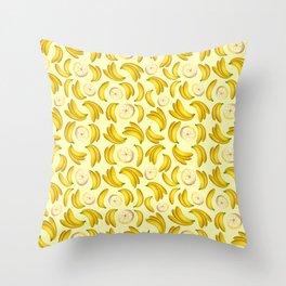 Banana Fruity Pattern  Throw Pillow