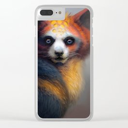 Exotic Fox Clear iPhone Case
