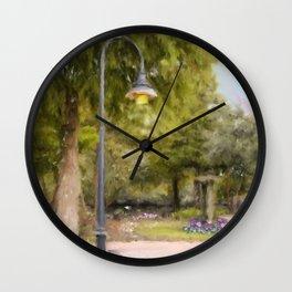 River Walk Wall Clock