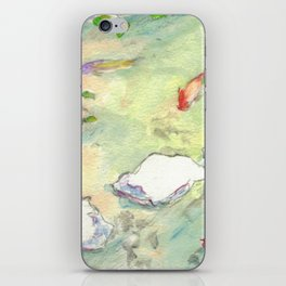 Small Koi Pond 28 iPhone Skin