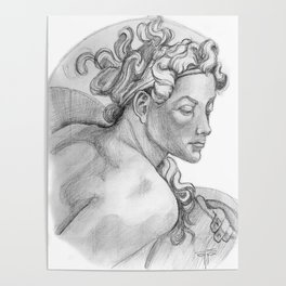 Ignudi Sistine Chapel Poster