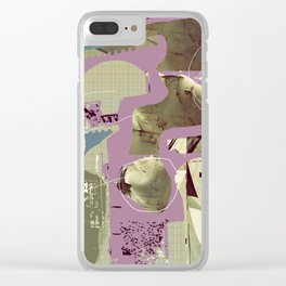 dripping water tap Clear iPhone Case