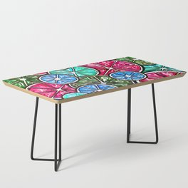 Citruses, Oranges, Lemons, Limes. Watercolor pattern Coffee Table