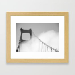 mystify the gate Framed Art Print