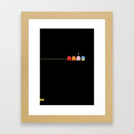 Ghost Disguise Framed Art Print
