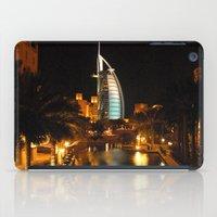 arab iPad Cases featuring Burj Al Arab Hotel - Dubai by Graham Taylor Photography Services