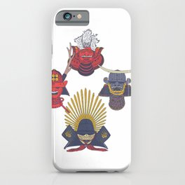 Samurai Helmet - Feudal Japanese Warrior - Kabuto T-Shirt iPhone Case