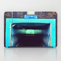 subway iPad Cases featuring Subway by Efua Boakye