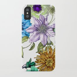 Botanical Haze iPhone Case