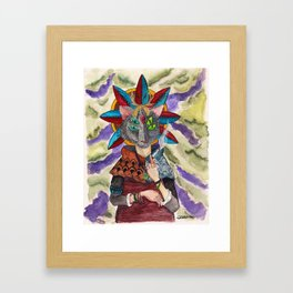The Shaman Framed Art Print