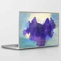 rorschach Laptop & iPad Skins featuring Rorschach by Sonia Garcia