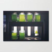 titan Canvas Prints featuring Titan by xoxo