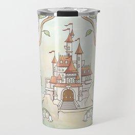 Castle in a Magical Forest Kingdom Travel Mug