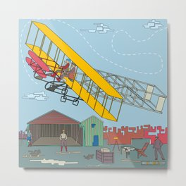 First Flight 1903 Metal Print