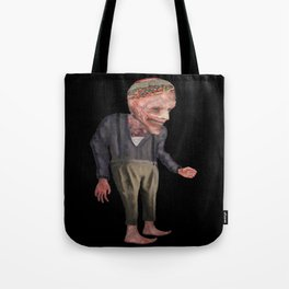 the man with candy Tote Bag