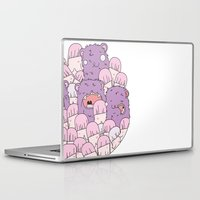tits Laptop & iPad Skins featuring we love tits by Hugo Portinha