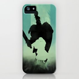 Never fight alone iPhone Case
