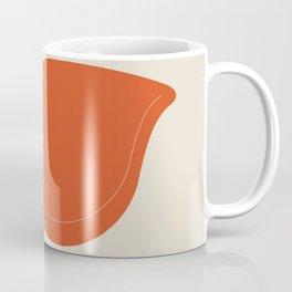 Orange La Chaise Chair by Charles & Ray Eames Coffee Mug