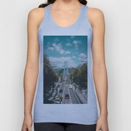 Lions Gate Bridge Unisex Tank Top