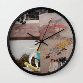 Retro Skater dude Wall Clock