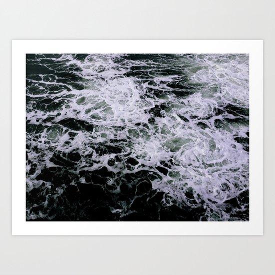 Dark Ocean II Art Print