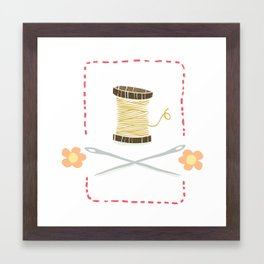 Sew it yourself Framed Art Print
