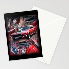 1969 Mustang Mach 1 CJ Stationery Cards