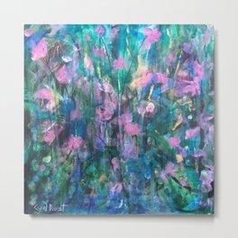 """FAIRY DREAMS"" Original Painting by Cyd Rust Metal Print"