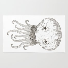 Cracked Octopus Rug