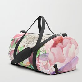 Paris Flower Market III Duffle Bag