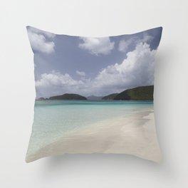 Cinnamon Bay Throw Pillow