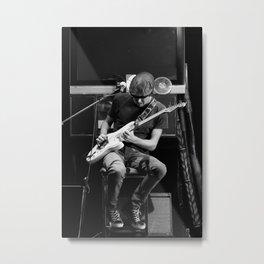 Blues Solo Metal Print