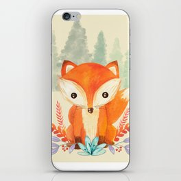 Evergreen Fox iPhone Skin