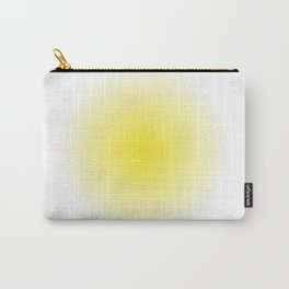Yellow Spray Carry-All Pouch