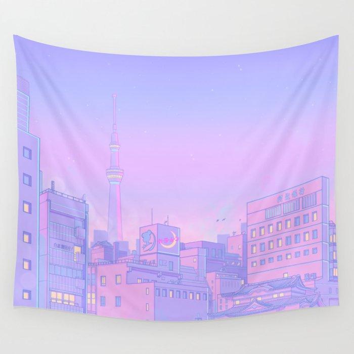 Sailor City Wandbehang
