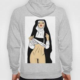 sexy nun Hoody